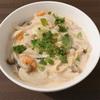 【今日のディナー】豆乳ヨーグルトのクリームパスタ風☆