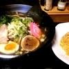 札幌市 麺や きよた / 醤油+辛味チャーハン