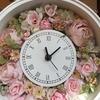 新しい門出にプレゼント🌸さくら色花時計
