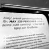 アメリカの混乱でスウェーデンが防衛監視力を強化