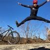 自撮りジャンプ