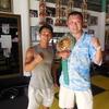 タイ・ 世界チャンピオンに会えた!