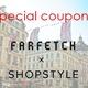 【5000円割引】世界最大ファッション通販サイトFarfetchクーポンをGETしよう