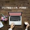 超初心者ブログ、開設3ヶ月で収益化の準備は整う(PVは激減)