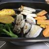 鰤と牡蠣 の鉄板焼き