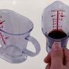 計量スプーンがカップになった!上からメモリが見える簡単ミニ計量カップ
