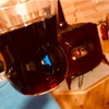 薪ストーブとホットワイン
