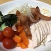 ボイルチキンと野菜