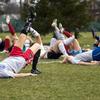 前十字靭帯損傷(ACL)トレーニングプログラム(十分な神経筋の活性化、筋力、膝関節への少ない負荷で着地とカッティングを行うテクニックを身に付けることが障害リスクも低下させる)