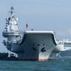 中国空母遼寧、台湾海峡に突入