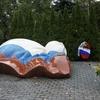 ロシアの歴史 ノヴォデヴィチ修道院墓地 ソ連の指導者を復習 2018欧州旅行その44