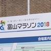 富山マラソン2018・ゴール見物