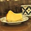 四谷三丁目の「猫廼舎」でサビネコ、チーズケーキ。