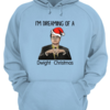 Funny I'm Dreaming of a Dwight Christmas shirt