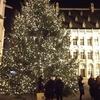 巨大なシンプルクリスマスツリー