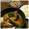 【レシピ】簡単野菜スープカレーとヤムウンセン(タイ風春雨サラダ)