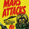 Mars Attacks Space Bubble Gum