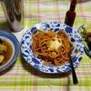 幸運な病のレシピ( 2455 )夜:パスタ、レトルト、汁