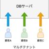 同一システム内で顧客ごとにDBを分ける対応について