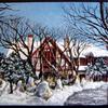 「北海道知事公館」の冬