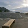 ダイヤ浜、水晶浜海水浴場と駐車場は冬景色!キティちゃんも寂しそう・・・