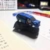 机の上に廃車コレクション