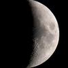 六日月(月齢5.656)