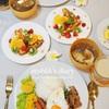 【洋食】おうち夜ごはん(3日分)の記録~カレー、タコライス、ガパオもどき(レシピ付)/My Homemade Dinner/อาหารมื้อดึกที่ทำเอง
