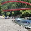 暑いときには川遊び -- 東京近郊の唐沢キャンプ場