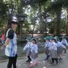幼稚園児の参拝