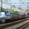 7月12日撮影 東海道線 平塚~大磯間 貨物列車撮影① 5075ㇾ 3075ㇾ