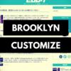 はてなブログテーマ「Brooklyn」をカスタマイズしました!CSSコピペOKです!