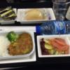 2014年ロンドン・パリ旅行⑭ ミュンヘン発 成田行 機内食