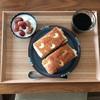 【2歳差育児の朝ごはん】モッツァレラチーズのフォカッチャ