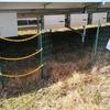 太陽光発電所における台風の影響 ~フェンスが外れていました~