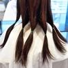 髪の寄付という形!