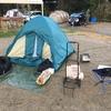 新年早々、冬キャンプに安い装備で行った話