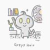 本日のイラスト Greys Hair