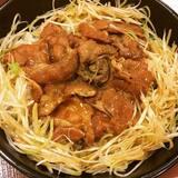 ★★炭火豚丼[すき家]