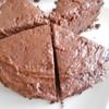 2層構造のチョコレートケーキ
