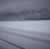 また雪景色。