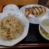 福しん(新宿区西新宿)のチャーハンと餃子と(練馬区石神井町)のタンメンと餃子