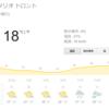 トロントに秋がやってきた。stoveは日本語で・・・?