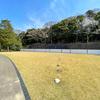【金沢城めぐり】かつての外堀だった丸の内園からは「地数寄屋敷西方の堀縁石垣」が見える