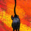 CLIP STUDIO PAINT で黒猫を描く。
