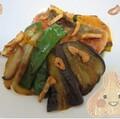 【夏レシピ】フライドガーリックがたまらない!よく焼き鮭と4種野菜にポン酢だれをからめる新メニュー!【冷製】