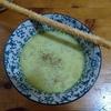 昆布だし+蕎麦湯だしでピースープと、メープルかシカモアか