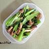 色鮮やか!小松菜としめじの炒め煮