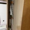 掃除用具をクローゼットに小スペース収納