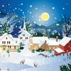【無料/フリーBGM素材】リリカル、雪の雨、ふんわり『Snow Rain』クリスマス音楽
